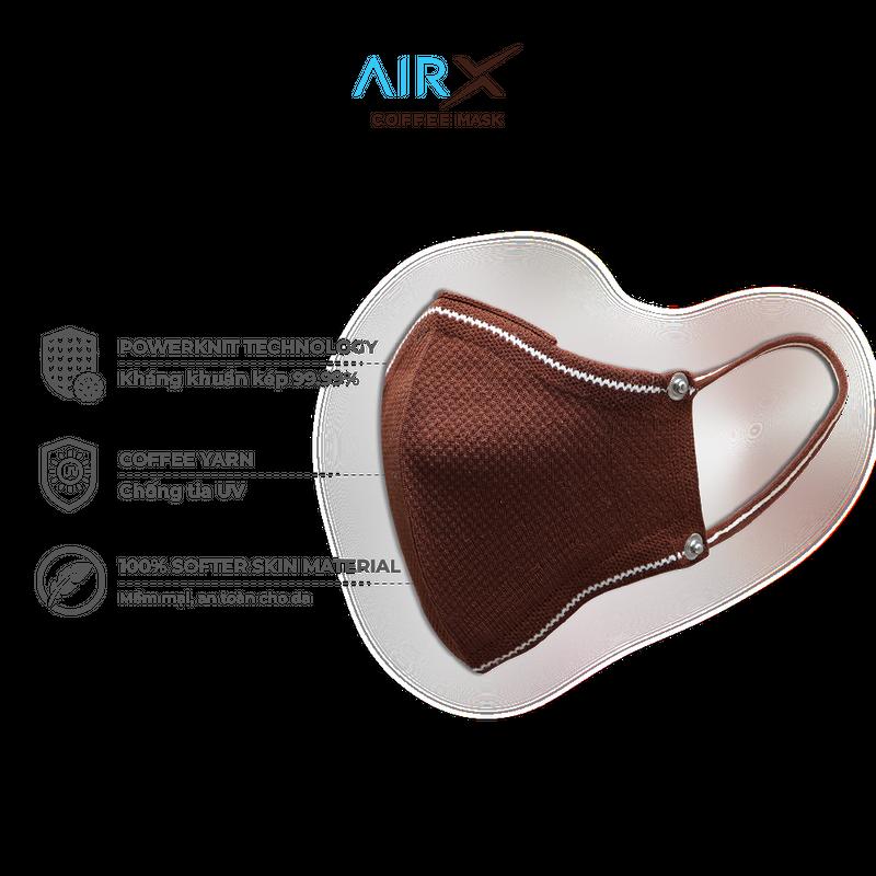 Khẩu trang cà phê AirX